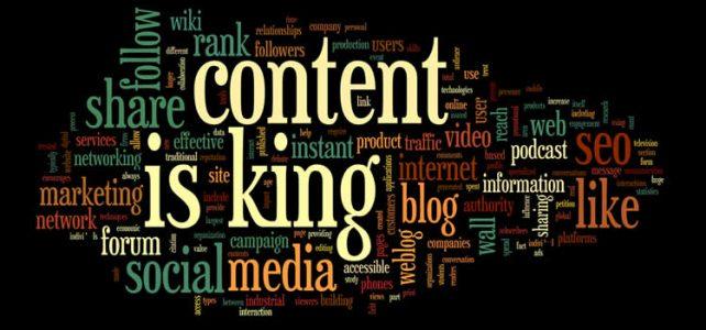 """Vì sao nói """"Content is King""""?"""