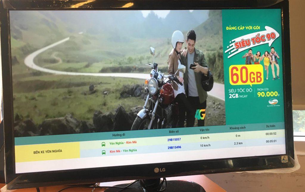 Màn hình quảng cáo sử dụng công nghệ quản lý trung tâm
