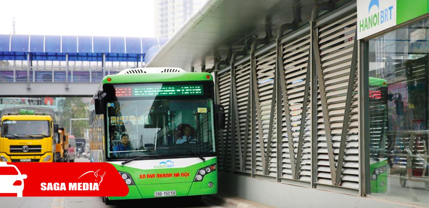 Quảng cáo thông minh TRÊN XE BUÝT & TẠI NHÀ CHỜ BUÝT NHANH BRT