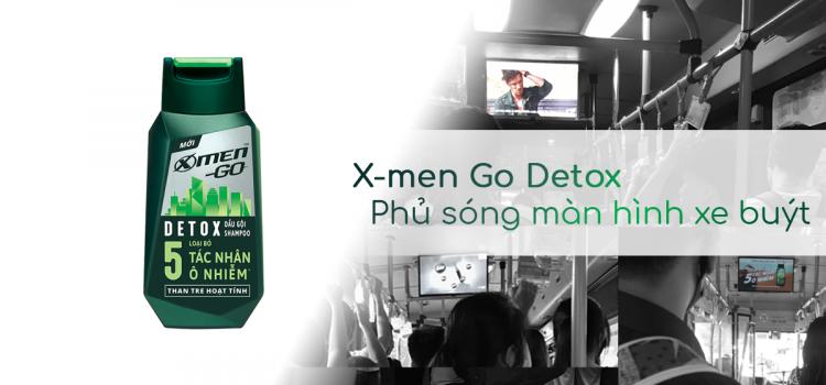 Case Study: Dầu gội X-men Go Detox – 09/2019
